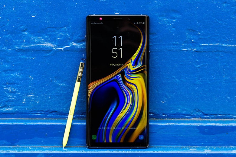 Samsung Galaxy Note 10 có màn hình rộng