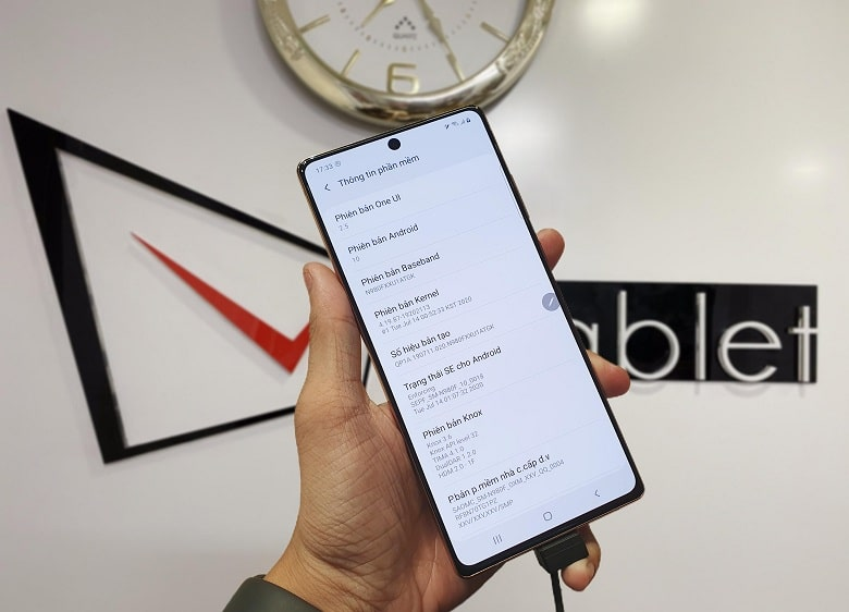 cấu hình Samsung Galaxy Note 20