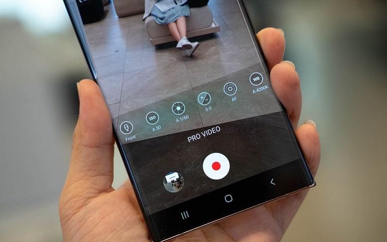 chụp ảnh Samsung Galaxy Note 20