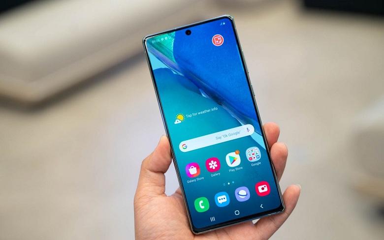 màn hình Samsung Galaxy Note 20