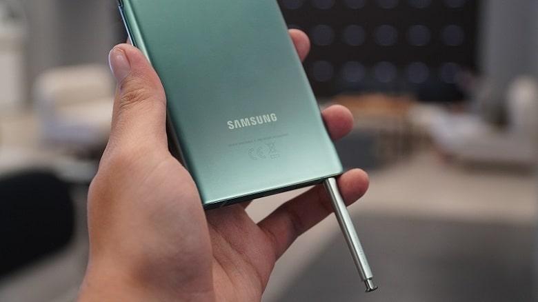 s-pen của Samsung Galaxy Note 20