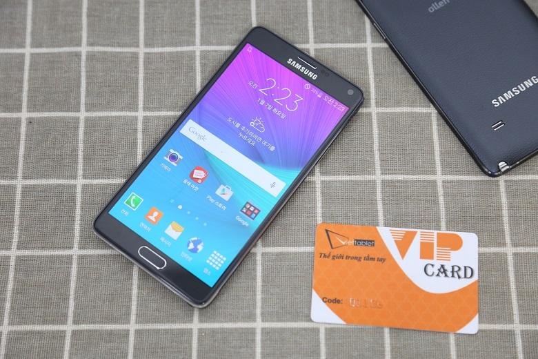 Samsung Galaxy Note 4 cũ vẫn đáp ứng tốt nhu cầu của khách hàng