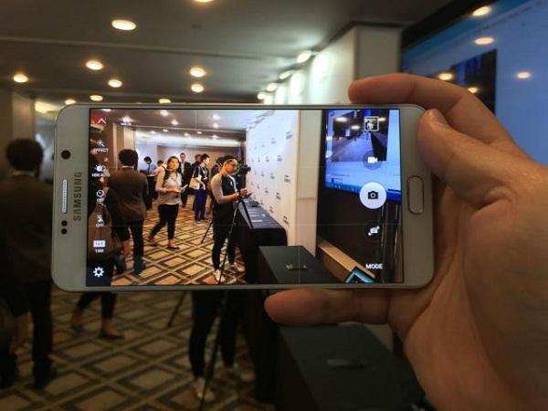 Samsung Galaxy Note 5 2 sim có thông số camera ấn tượng