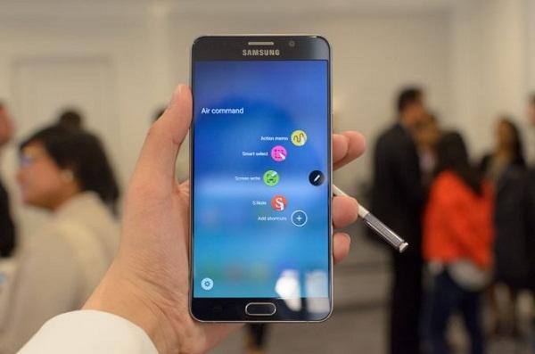 Samsung Galaxy Note 5 2 sim có cấu hình khủng