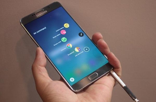 Trải nghiệm trên màn hình Samsung Galaxy Note 5 rất tuyệt vời