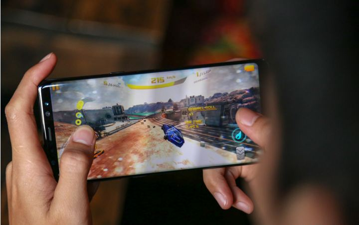 game trên Samsung Galaxy Note 8 Hongkong