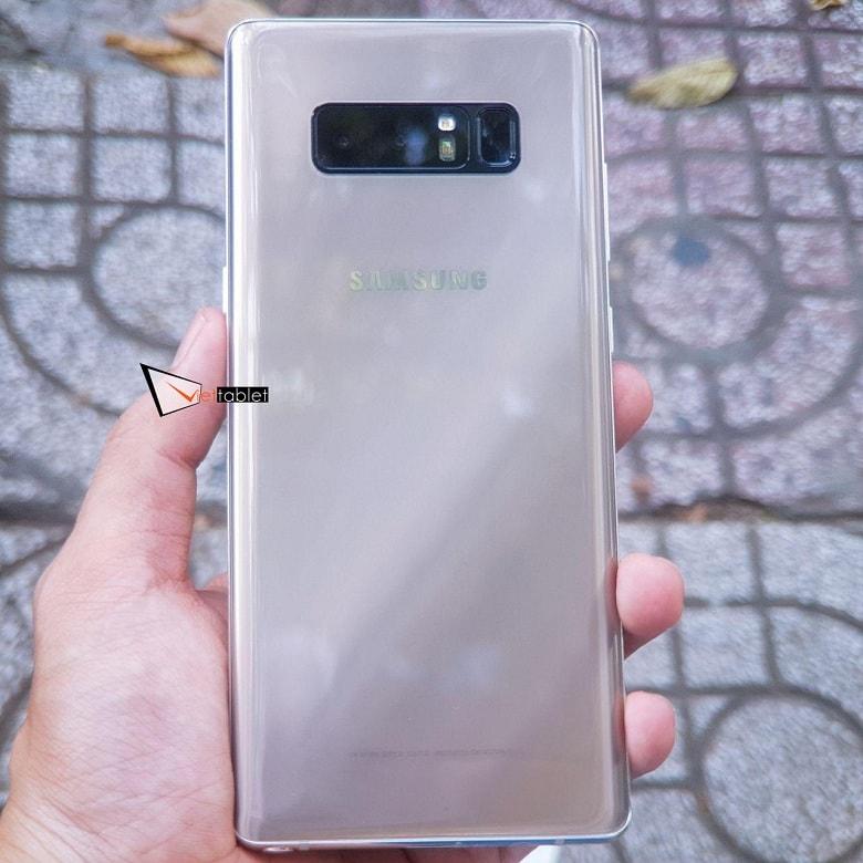 thiết kế Samsung Galaxy Note 8 Hàn Quốc 2 SIM