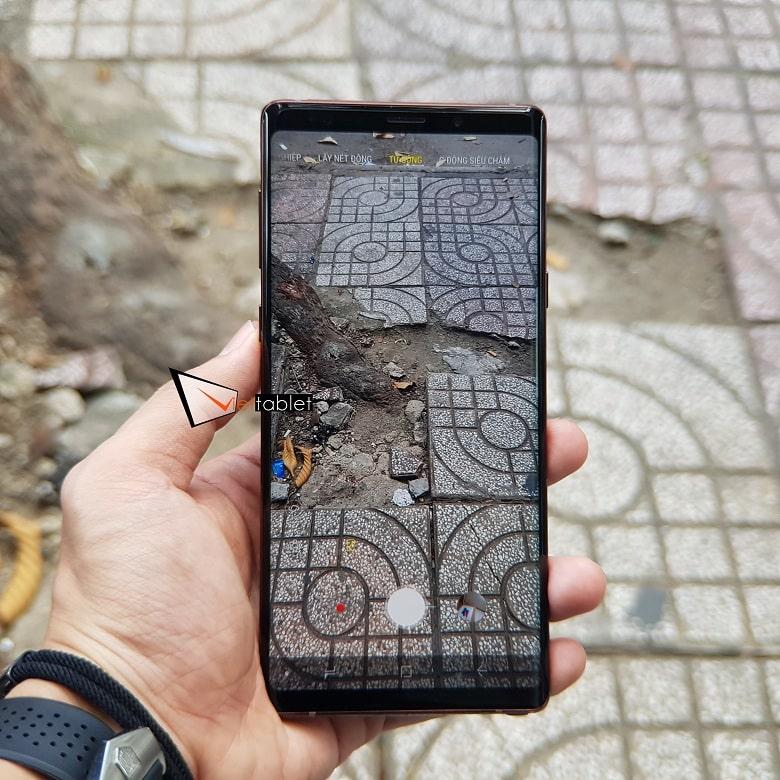 camera Samsung Note 9 bản F
