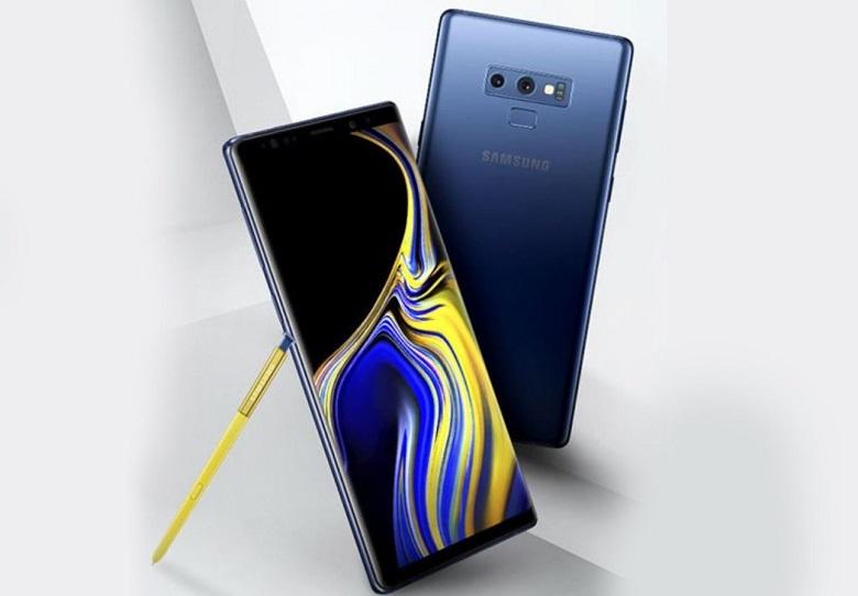 Samsung Galaxy Note 9 nhiều màu sắc