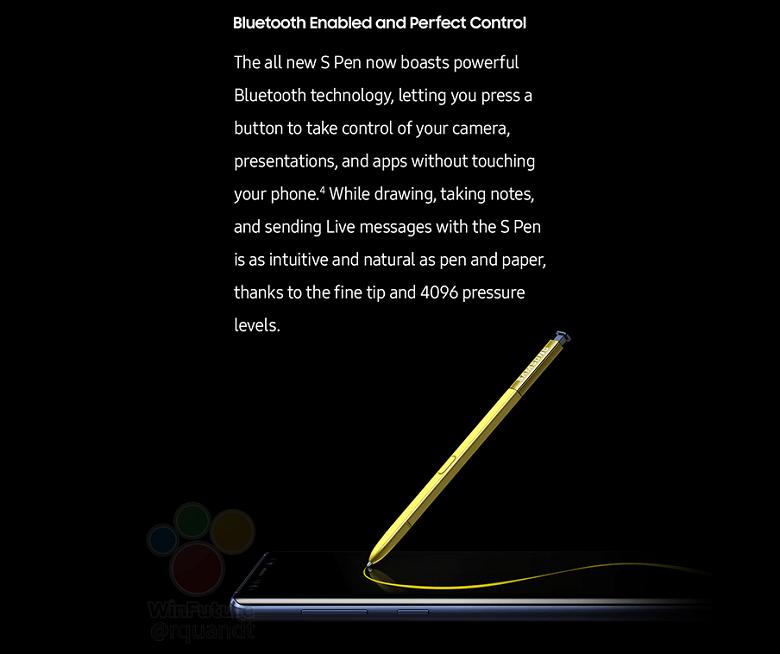 tính năng mới bút S Pen của Samsung Galaxy Note 9