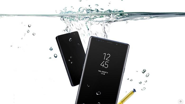 kháng nước Samsung Galaxy Note 9