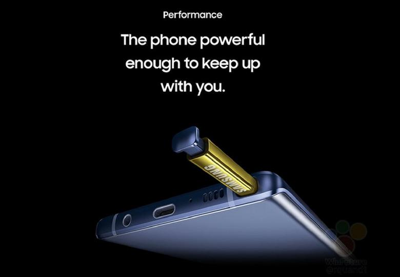 bút S Pen của Samsung Galaxy Note 9