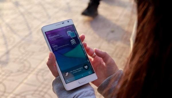 Cấu hình mạnh mẽ của Samsung Galaxy Note Edge Docomo