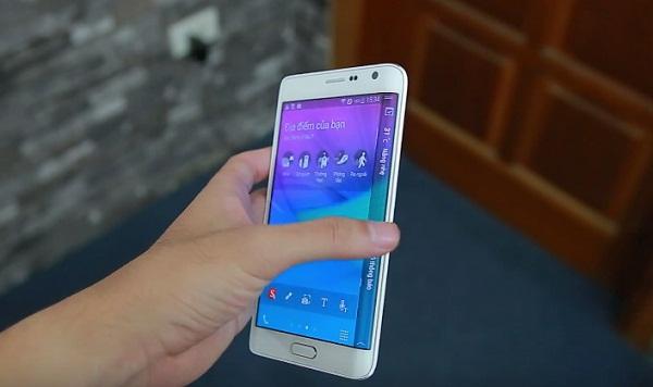 Samsung Galaxy Note Edge Docomo màn hình sắc nét
