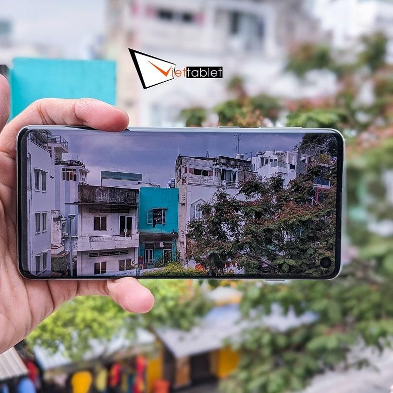 chụp ảnh của Galaxy S10 cũ Hàn Quốc