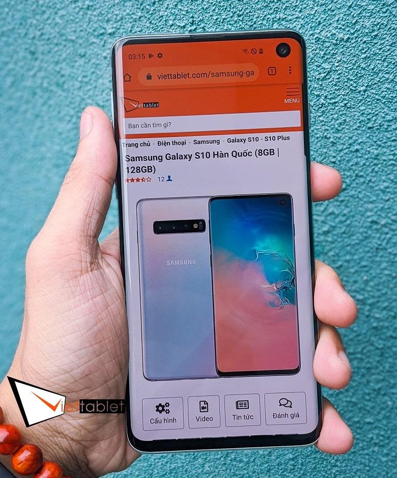 màn hình Samsung Galaxy S10 cũ Hàn Quốc