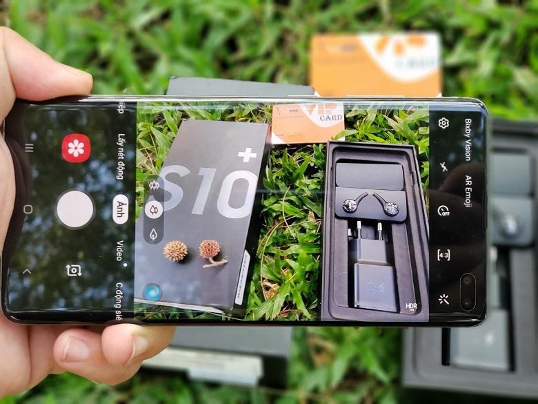 chụp ảnh Samsung Galaxy S10 Plus Hàn Quốc
