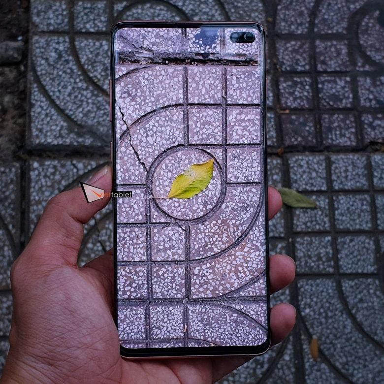 chụp ảnh trên Samsung Galaxy S10 Plus cũ
