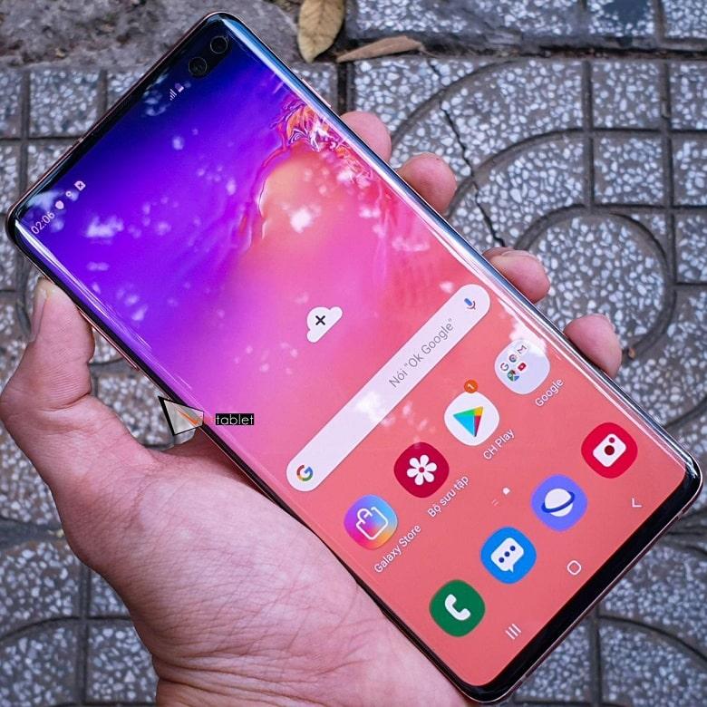 màn hình của Samsung Galaxy S10 Plus cũ