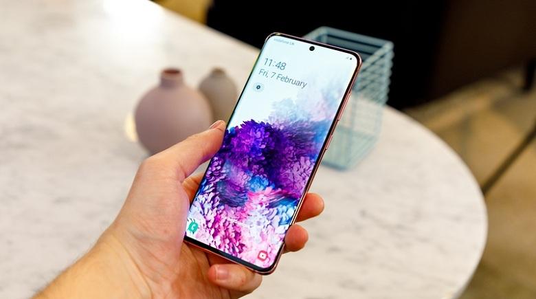 hiển thị Samsung Galaxy S20 (8GB - 128GB) Công Ty