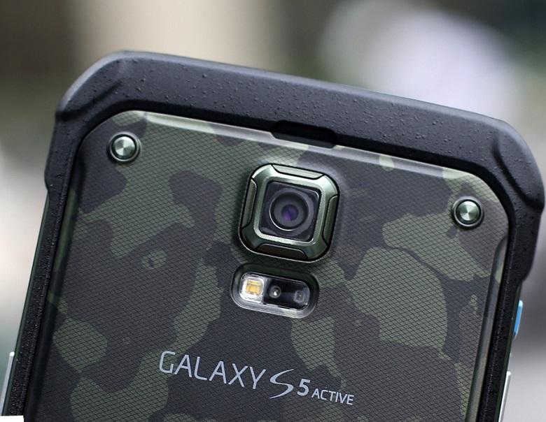 samsung galaxy s5 active có thiết kế tốt