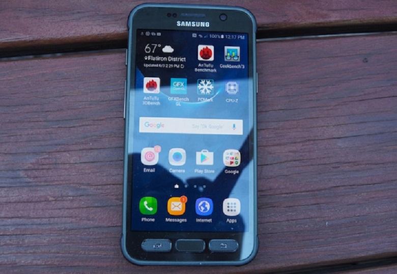 Samsung Galaxy S7 Active sở hữu cấu hình mạnh mẽ