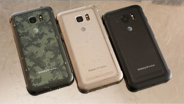 Samsung Galaxy S7 Active lên kệ với 3 màu Camo Green, Titanium Gray, Sandy Gold