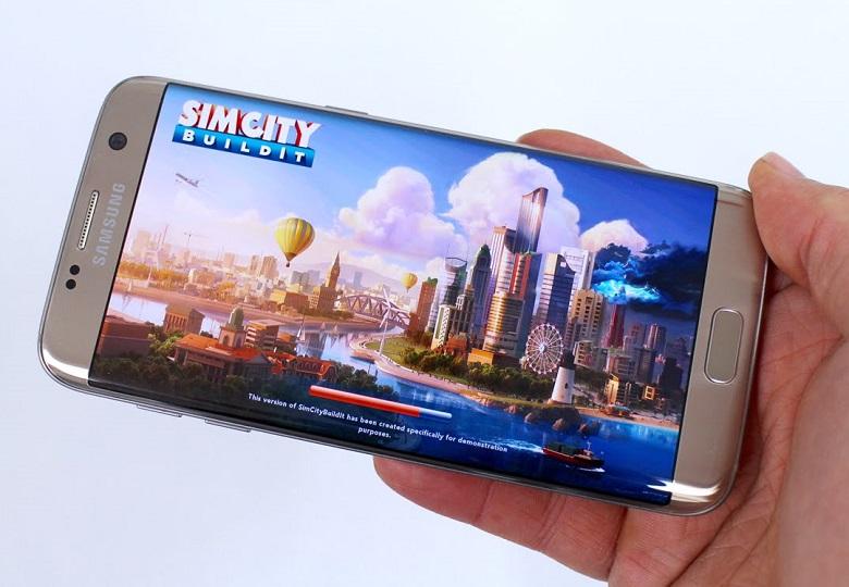 Samsung Galaxy S7 Edge có cấu hình vượt trội