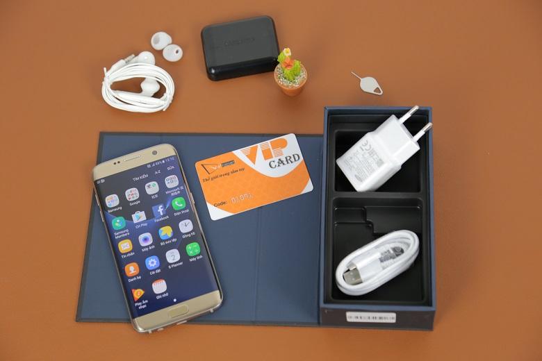 Samsung Galaxy S7 egde 2 sim full box