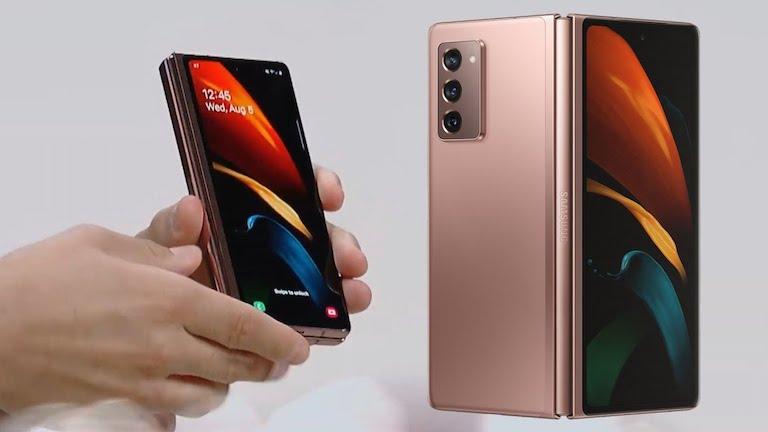 hiển thị Samsung Galaxy Z Fold 2 5G