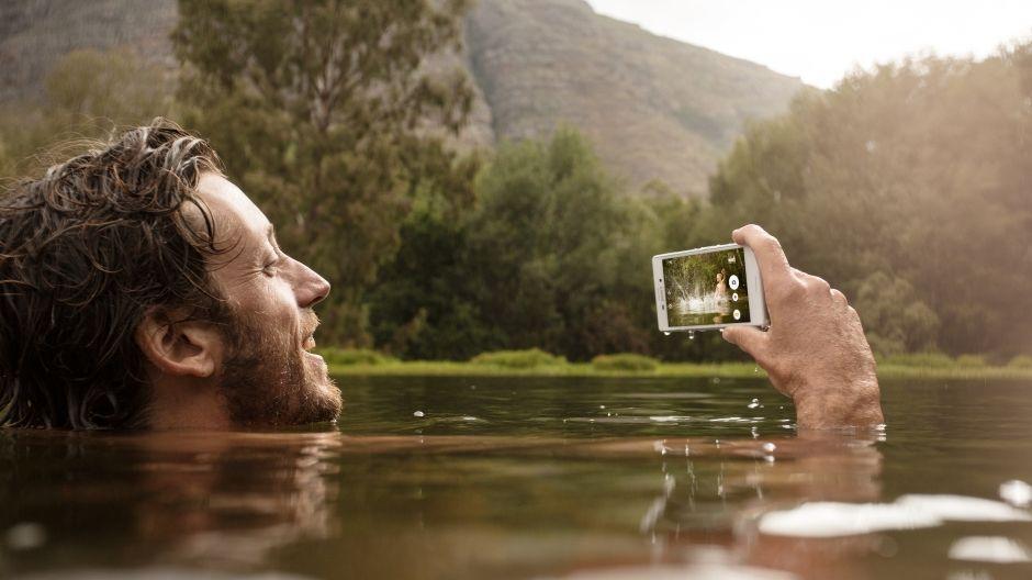 Sony Xperia M4 Aqua chống nước tốt