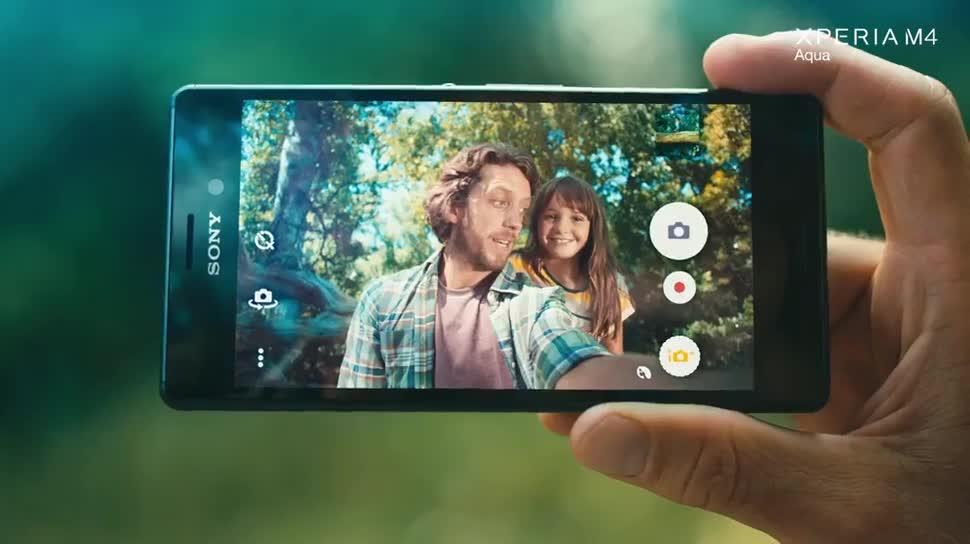 Sony Xperia M4 Aqua camera khủng
