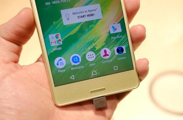 Sony Xperia X  sở hữu màn hình sắc nét và chân thực