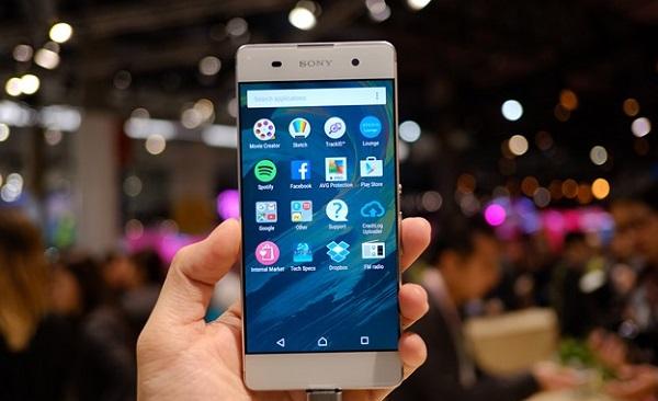 Sony Xperia XA được trang bị màn hình sắc nét