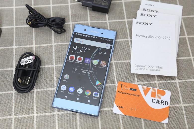 Sony Xperia XA1 Plus sở hữu màn hình 5.5 inch
