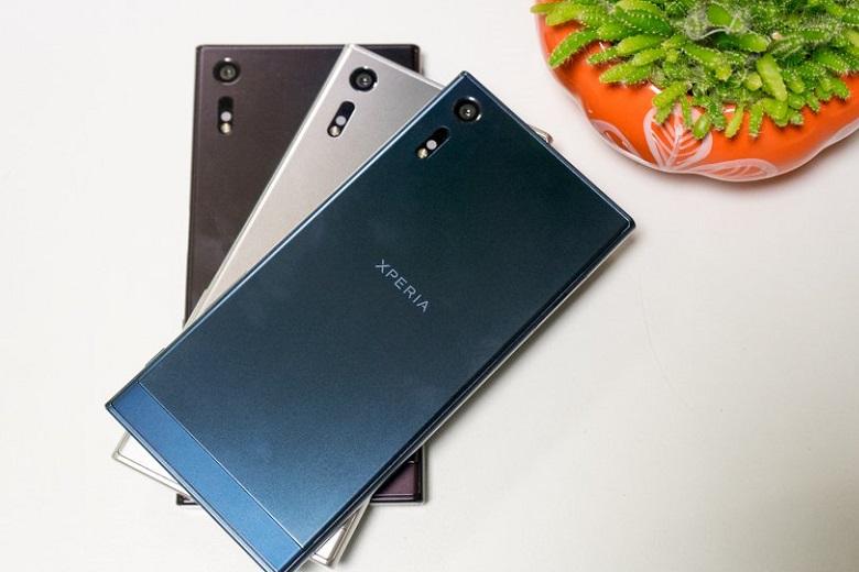 Sony Xpria XZ cũ là sản phẩm của thị trường Nhật Bản