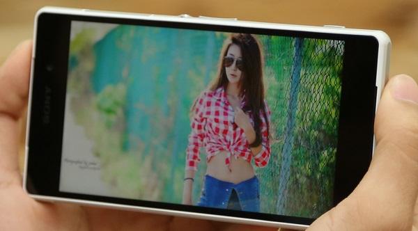 Sony Xperia Z2 cũ cho chất lượng hiển thị HD