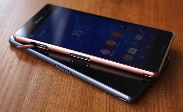 Sony Xperia Z3 cũ có thiết kế tinh tế