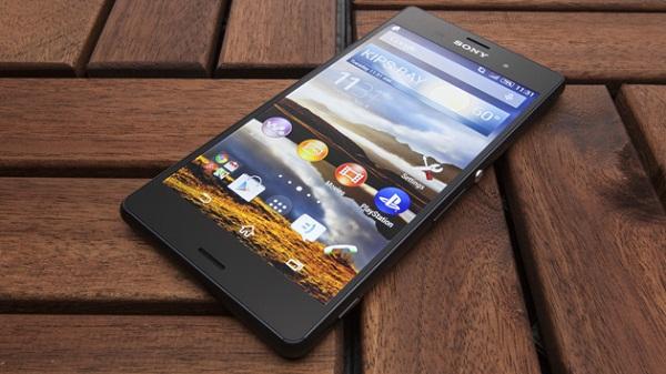 Màn hình sắc nét của Sony Xperia Z3 T-Mobile