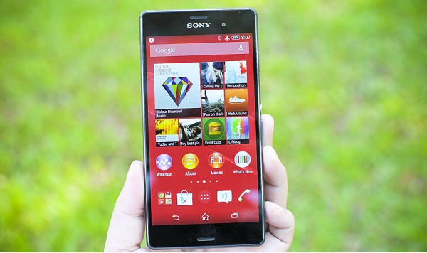 Thiết kế đẹp Sony Z3 T-Mobile