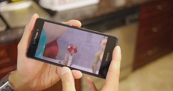 Sony Xperia Z3v có dung lượng pin ổn định