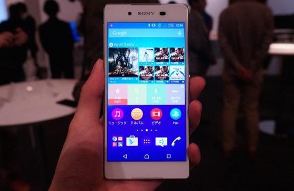 Sony Xperia Z4 Au sở hữu màn hình Full HD