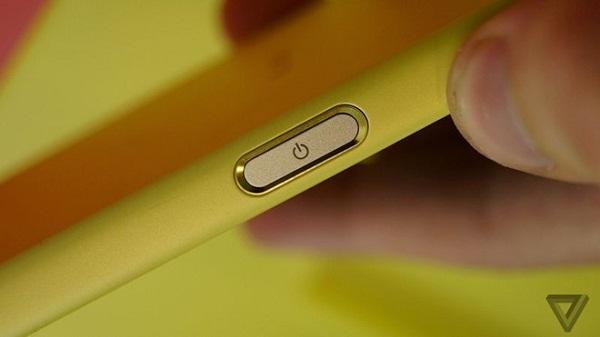 Sony Xperia Z5 có phím nguồn được tích hợp cảm biến nhận dạng vân tay