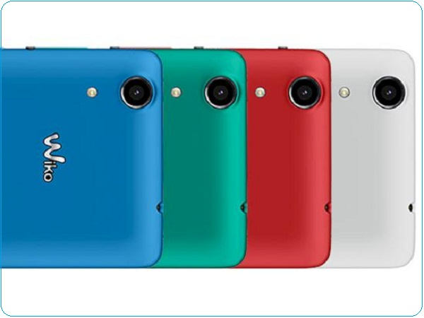 Camera chuyên selfie Wiko Rainbow Lite