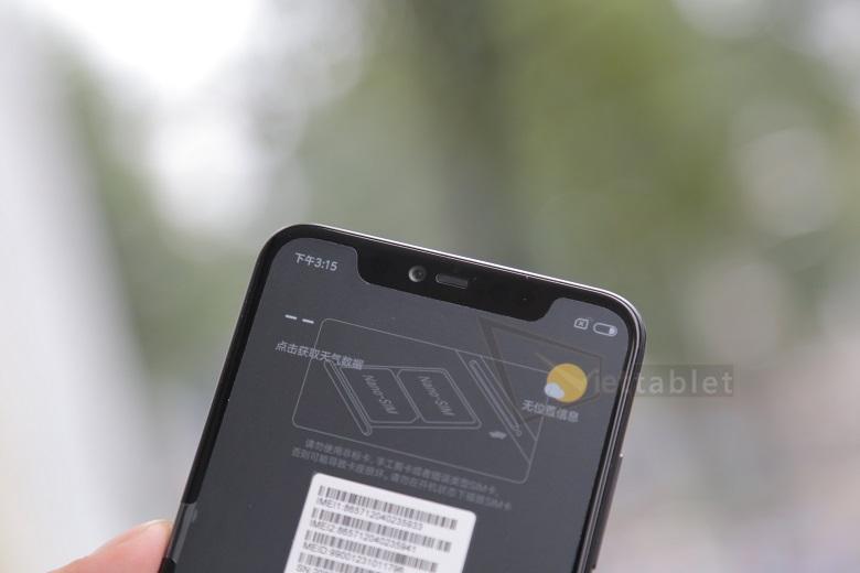 Xiaomi Mi 8 EE nhận diện khuôn mặt