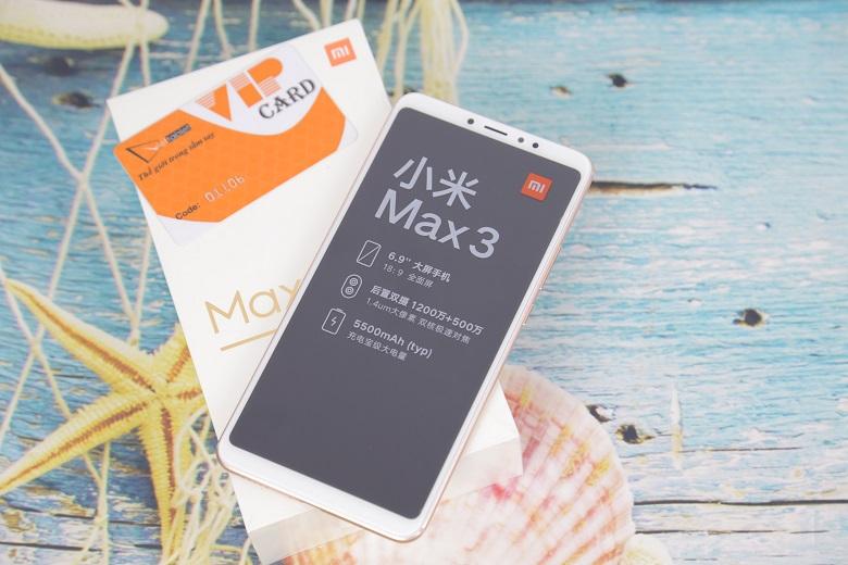 đánh giá cấu hình Xiaomi Mi Max 3