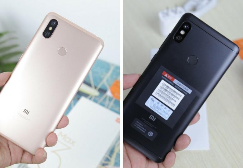 so sánh Xiaomi Mi Max 3 và Redmi Note 5 Pro cấu hình