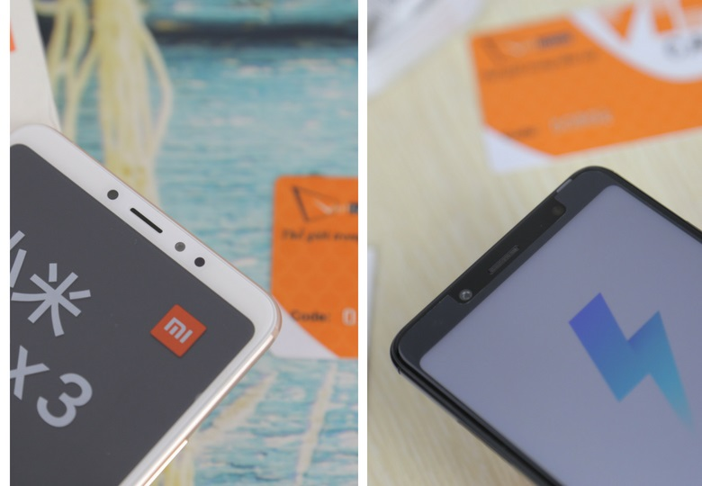 so sánh Xiaomi Mi Max 3 và Redmi Note 5 Pro pin