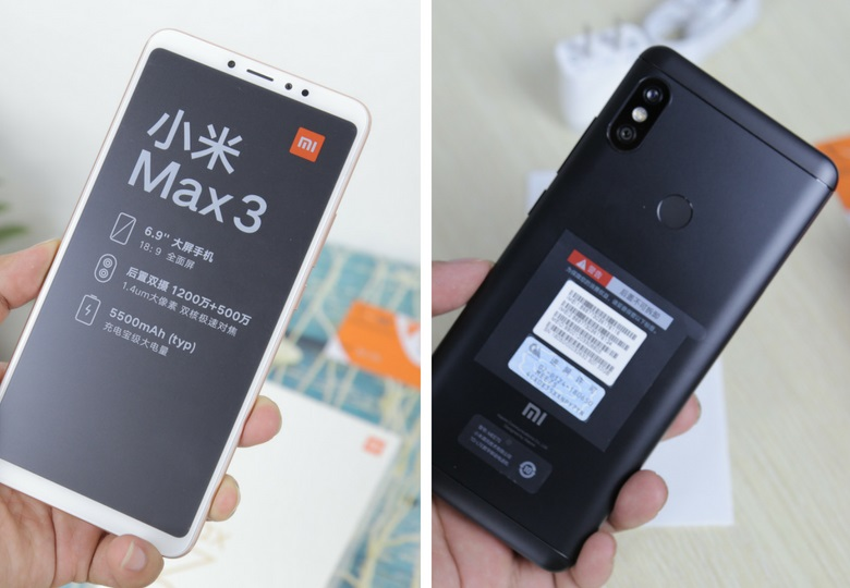 so sánh Xiaomi Mi Max 3 và Redmi Note 5 Pro