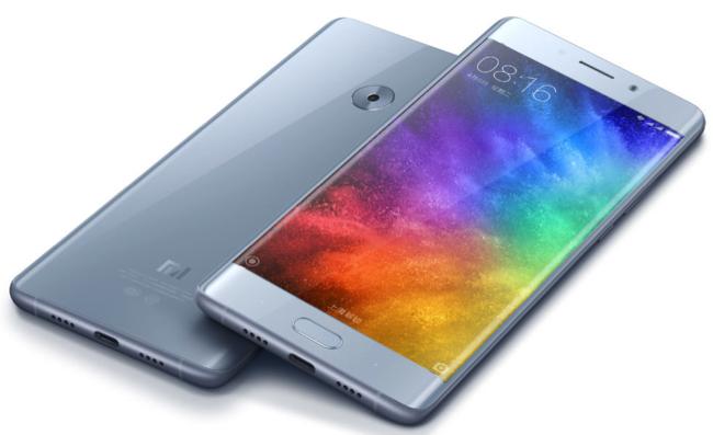 Xiaomi Mi Note 2 màn hình dẻo oled